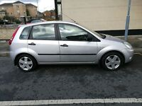 Ford Fiesta 1.4 Flame, 5 Door Hatchback 2004, Petrol Manual Silver Only 79981 miles. FOR SALE £1295