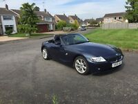 05 BMW Z4 2.0 se convertible long mot service history low miles 75000miles £3750