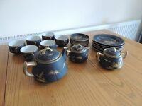 Mount Fuji tea service