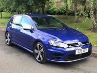 2014 Blue Volkswagen Golf R 2.0 TSI BlueMotion Tech R 4MOTION 5dr Hatchback - P/X Welcome