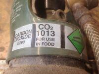 Co2 gas bottle