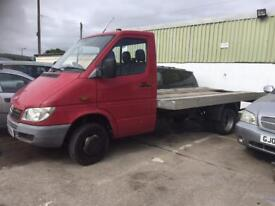 Mercedes sprinter low loader with winch
