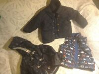Boys 12 to 18 months lovely spring coat bundle