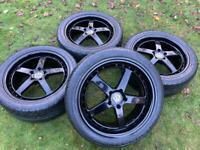 "20"" VW Transporter T6 T5 Alloy Wheels Excellent Tyres"