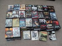 DVD COLLECTION, APPROX 280 TOP TITLES