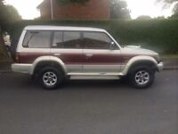 MITSUBISHI PAJERO EXCEED 7 SEATER ABOVE AVERAGE EXAMPLE.