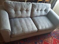 Nearly new 3 seater DFS sofa / double sofa bed, with 5 year fabric protection