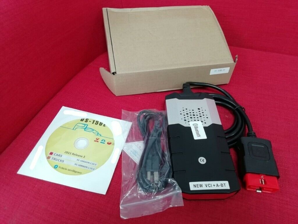 VCI OBD2 New Diagnostic Tool Scanning Apparatus For Delphi Software For Car  MB | in Mitcham, London | Gumtree
