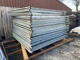 SITE SECURITY SOLID HOARDING PANELS > USED