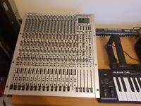 Behringer Eurorack MX3242 X with Power Supply and Patch Bay