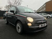 2011 FIAT 500 0.9 LOUNGE **ONLY 72000 MILES + FULL SERVICE HISTORY +PANORAMIC ROOF+ 11 MONTHS MOT*