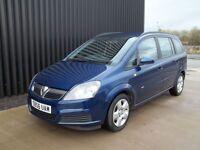Vauxhall Zafira 1.6 i 16v Club 5dr 7 Seats May px / Swap