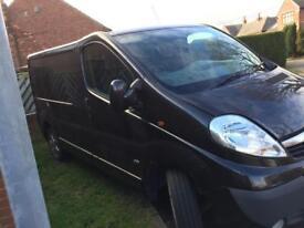 Vauxhall vivaro 2012
