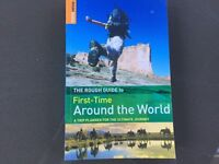 Rough guide first time around the world guide book