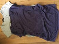 Maternity t-shirts size 12