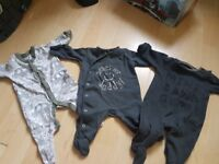 Next babygrows first size and up to 1 month