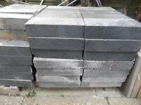 Concrete and Celcon Aircrete building blocks
