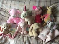 Girls soft toys (all brand new with tags)