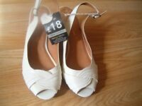 New leather, nice and elegant women's shoes