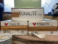 Tonalite Lingotti tiles, Cipria and Ghiaccio