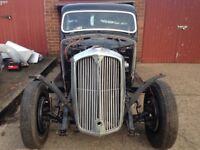 Rover p2 1947 classic car restoration project