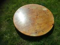 Solid pine table top