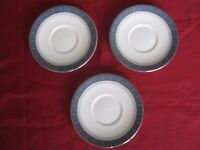 Royal Doulton Sherbrooke coffee saucers