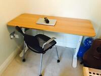 Bekant Ikea desk and chair