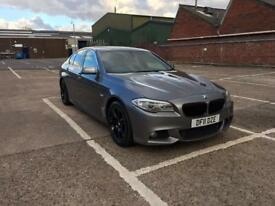 bmw 520d m sport 2011 11 plate business edition saloon fully loaded sat nav heated leather seats