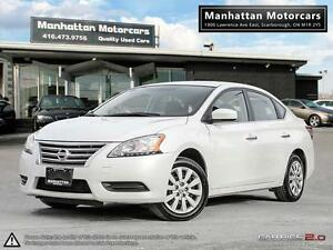 2015 NISSAN SENTRA S AUTOMATIC - PHONE|1 OWNER|FACTORY WARRANTY