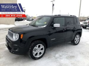 2018 Jeep Renegade Limited Remote Start - Heated Front Seats - B