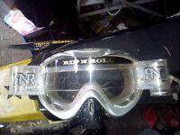 Rip n Roll motocross goggles