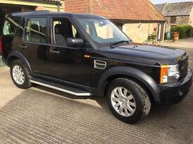 LAND ROVER DISCOVERY 3 TDV6 SE A - BLACK, DIESEL, AUTO, 2008 ONLY 84,40 MILES