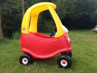 Childrens Little Tikes Cosy Coupe Car