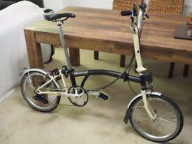 NEW BROMPTON H6L FOLDING BIKE BICYCLE