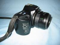 Olympus OM 101 Power Focus 35mm Film SLR Camera