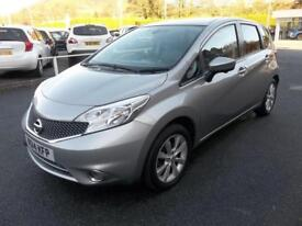 Nissan Note 1.5 dCi Tekna 5dr (blade silver) 2014