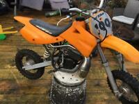 Ktm 50 mini adventure kids crosser