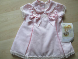 BABY GIRLS DRESS PY PRETTY ORIGINALS BNWT