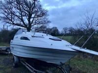 Power boat bayliner 2255