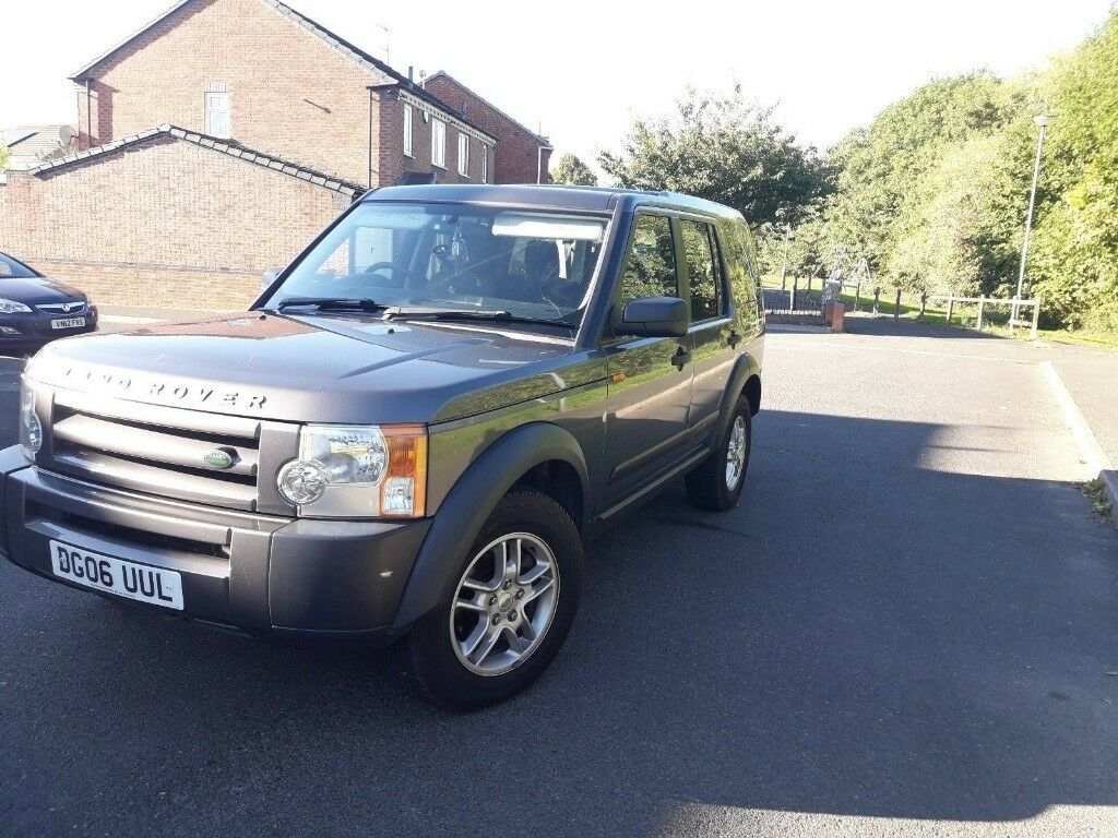 Land Rover discovery 3 tdv6 7 seater 2.7 6 speed manual CHEAP ROAD