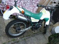 Trail/Off Road 225 Yamaha Serow. 1987 but 1st Reg in UK in 2004