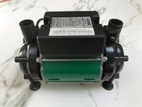 Salamander twin shower pump