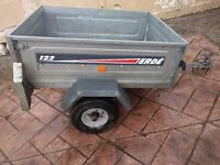 Erde 122 Tipping/Camping Trailer