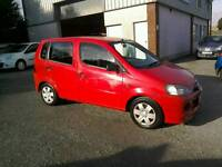 03 Daihatsu Yrv 1.3 5 door Moted Oct 2017 one owner ( can be viewed inside anytime)