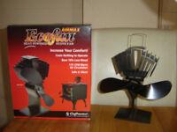 Eco fan airmax 812 wood burner multifuel stove fan