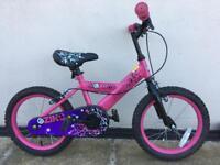 "Girls Pink Bike 16"" wheels 5-7 years"
