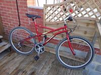 Apollo Manic Unisex Road Bicycle in Mint Condition with helmet