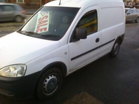 NOW SOLD SOLD VAUXHALL COMBO 2000 CDTI 1.3 05 REG SOLD