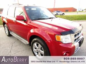 2010 Ford Escape Limited 4WD *** CERTIFIED ** LEATHER *** $7,499